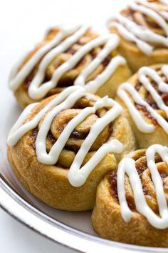 EASY PUMPKIN CINNAMON ROLLS Really nice recipes. Every  Mein Blog: Alles rund um Genuss & Geschmack  Kochen Backen Braten Vorspeisen Mains & Desserts!