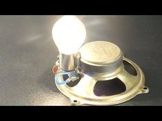 in this video you will see Free Energy speaker magnets with Light Bulbs at home - Creative Crafts i hope you enjoy this tutorial like i do. Energy Projects, Projects To Try, Diy Generator, Magnetic Generator, Motor Generator, Perpetual Motion, Easy Youtube, Project Free, Alternative Energy