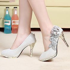 Women's Shoes Synthetic Stiletto Heel Round Toe Pumps Dress More Colors available 3323302 2016 – $39.99