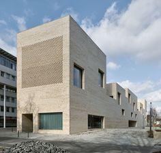 Max Dudler Architekt, Stefan Müller · Heidenheim City Library