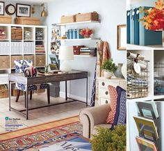 In love with this home office from BHG