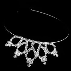 Girls Rhinestone Crystal Crown Comb Hair Clip Bridal Tiara Women Fashion New Hot Gift -- Continue to the product at the image link.