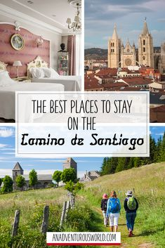 Best Places to Stay on the Camino de Santiago, Spain - Are you thinking of taking on one of the best hikes in the world? Then here are the best places to stay on the Camino de Santiago in Spain! >> Click through to read the full post! Camino Trail, The Camino, Camino Routes, Portugal, Spain Pilgrimage, El Camino Pilgrimage, Camino Portuguese, Colorado Hiking, Ice Climbing