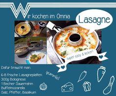 WHATABUS - das Online-Magazin für mobile Camper - präsentiert Euch ein Kochrezept für Lasagne aus dem Omnia beim Camping - einfach lecker!
