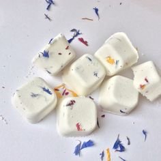Aromatherapy bath cubes , samples available on listing .