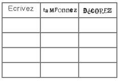 Écrivez, Tamponnez et Décorez Sight Word Centers, French Immersion, Sight Words, Kindergarten, Classroom, Class Room, Kindergartens, Preschool, Preschools
