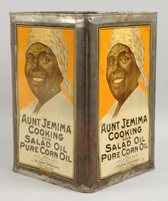 Vintage Baking, Vintage Tins, Vintage Antiques, Tin Can Alley, Vintage Magazine, Aunt Jemima, Weird Vintage, Old Country Stores, Historia