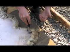Learn how to make your own beautiful sheep skin rugs! The rest of the videos can be found on my blog.