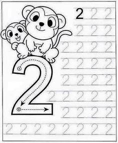 New System-Suitable Numbers Line Study - Preschool Children Akctivitiys Preschool Writing, Numbers Preschool, Preschool Learning Activities, Preschool Printables, Kindergarten Math Worksheets, Math For Kids, Kids Education, Alaia, Wall Photos
