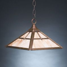 Northeast Lantern 1 Light Hanging Pendant Finish: Antique Copper, Glass Color: Clear