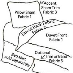 Nothing quite fits your style? This allows you to Create Custom Dorm Bedding