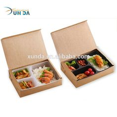 Takeaway Packaging, Food Packaging Design, Dessert Packaging, Disposable Lunch Boxes, Plastic Lunch Boxes, Vegan Lunch Box, Bento Box Lunch, Comida Delivery, Delivery Food