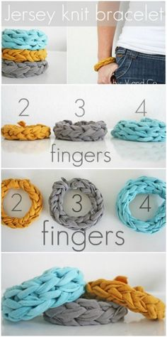 Braided Bracelets  (100 ideas)