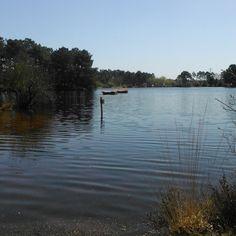 Lac de la Magdeleine moment de calme sous le soleil exactement B-)