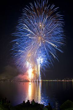 Fireworks in Cannes, France by Neil Lupin