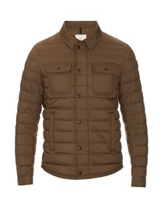 MONCLER Andy Quilted-Down Nylon Jacket. #moncler #cloth #jacket