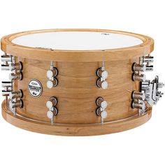 PDP Limited Edition Maple/Walnut Snare Drum with Chrome Hardware 14x7.5 Inch