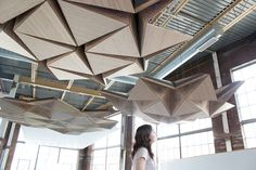 RVTR sound shaping mechanical ceiling  click through for video