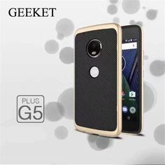 >> Click to Buy << GEEKET Cover For MOTO G5/G5 PLUS Case 2 in 1 Design Protective Back Cover+Bumper Frame For moto g5/g5plus Cellphone Protector #Affiliate