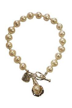 Rebecca Watson Designs Silver & Cream Pearl Lily Bracelet http://www.youngideasfashion.com/store/product/13363/Rebecca-Watson-Designs-Silver-%26-Cream-Pearl-Lily-Bracelet/