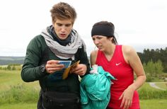 Man I'm gonna miss them so much! You two ran a great race! Go Joey and Meghan! Race Around The World, Amazing Race, Reality Tv Shows, Episode 3, Racing, Running, Auto Racing