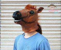 At Kafası / Horse Head  #horse #head #mask #athome #atwork #party #fun #funny #partymasks #animals