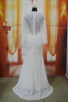 Dit is de prachtige achterkant van de custom made #bruidsjurk van onze lieve #bruid Nicole ❤️ #weirdcloset #trouwen
