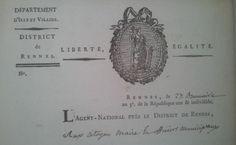 Liberté, égalité. #Revolution #FrenchRevolution #oldpapers #entete #archives