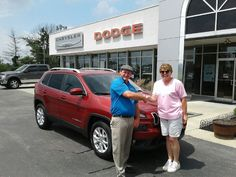 Christine Church did her homework and knew that a new '17 Jeep Cherokee was the smart choice for her. And Sales consultant Bryan Marsh made it all come together for her on this Latitude 4x4 model! Congratulations Christine and we will see ya on the trails! www.zimmermotors.com #SalesConsultant