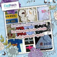 Mande no nosso Facebook!  facebook.com.br/fastpatchartesanato