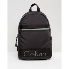 3368cac12a Calvin Klein Re-Issue Neoprene Backpack featuring polyvore, women's  fashion, bags, backpacks, black, daypack bag, faux-leather backpacks,  calvin klein ...