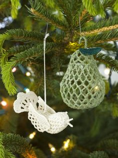 Free Baby Partridge In A Pear Tree Ornament Patterns
