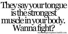 Wanna fight?