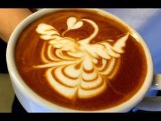 "IKECCI'S Latte Art ""Phenix"" 2015.7.11 ラテアート フェニックス - YouTube"