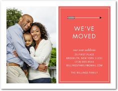 Moving Announcement Postcards - Arrow's Flight by Tiny Prints