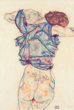 Schiele 1914 - -