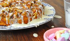 Surprise the Fam with Cinnamon Apple Cake with Cream Cheese Frosting :: YummyMummyClub.ca