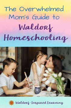 Certain times of year can bring overwhelm to homeschoolers. But honestly, overwhelm knows no bounds. Overwhelm can strike any time. Today, I offer you the overwhelmed Mom's guide to Waldorf homeschooling. Here are some six tips to help you overcome the overwhelm. #waldorfhomeschooling #waldorfinspiredlearning #overcometheoverwhelm Curriculum Planning, Homeschool Curriculum, Homeschooling, The New School, School Fun, School Tips, High School, Waldorf Curriculum, Waldorf Education