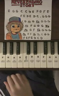 Stranger Things Quote, Stranger Things Actors, Stranger Things Aesthetic, Stranger Things Netflix, Piano Sheet Music Letters, Piano Music Easy, Piano Music Notes, Piano With Letters, Song Notes