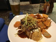 Open face filet sandwich with house made chips [OC] [1080 x 1920]