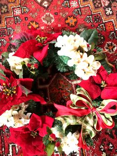 Beautiful 22 inch diameter wreath for sale