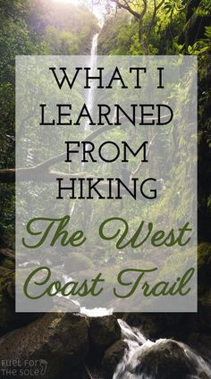 The West Coast Trail on Vancouver Island in British Columbia, Canada is an epic hike and challenging backpacking trip. We cover everything you need to know before your trip. Pacific Crest Trail, Thru Hiking, Hiking Tips, Appalachian Trail, Vancouver Island, British Columbia, Cheap Places To Travel, West Coast Trail, Coast Australia