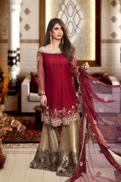 Designer Party Wear Master Copy In Chiffon Pakistani Dresses Shalwar Kameez, Shadi Dresses, Pakistani Formal Dresses, Pakistani Party Wear, Pakistani Wedding Outfits, Pakistani Dress Design, Salwar Kameez, Pakistani Clothing, Walima
