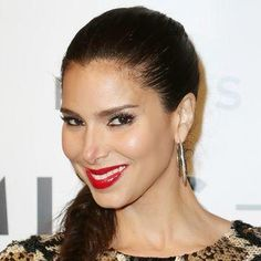 Roselyn Sanchez's side braid and bold red lip at the Billboard Latin Music Awards
