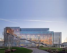 Fantastic WAN Wood in Architecture entry by Arup Associates. Sky Believe in Better Building located in London, United Kingdom. (c) Simon Kennedy.