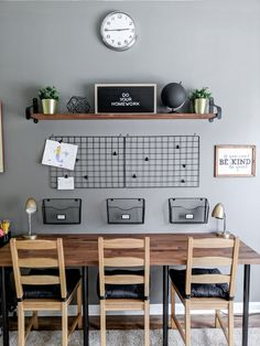 Creating a homework station for three kids for less than $300. How to do it yourself, organize supplies, and display artwork. #homeworkstation #diyhomeworkstation #triplehomeworkstation #organizedhomework #organizedkids #craftorganization #craftsupplies #homeworkdisplay #artdisplay #kidsspaces #organizedhomework #ikeahack