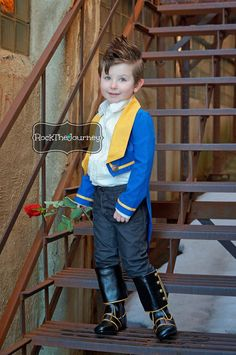 Beasty Boy Beauty and The Beast Costume Blue by RockTheJourney