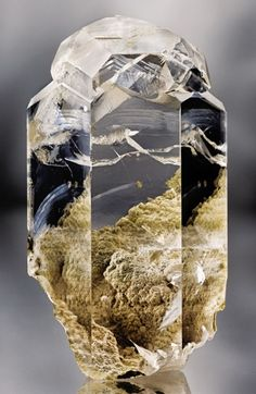Water-clear Calcite from Russia