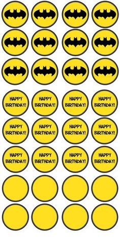 Free Printable Batman Cupcake Toppers - Batman Party - Ideas of Batman Party - Free Printable Batman Cupcake Toppers Lego Batman Birthday, Lego Batman Party, Superhero Birthday Party, 6th Birthday Parties, Birthday Cupcakes, Boy Birthday, Party Cupcakes, Batgirl Party, Valentine Cupcakes