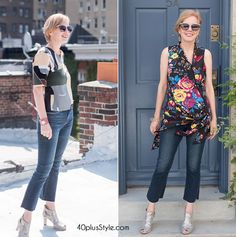 e2c88838301a How to wear jeans over 40 – guidelines and ideas for wearing jeans with  style